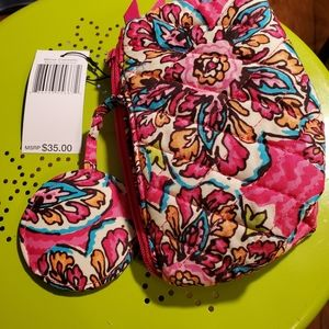 NWT Vera Bradley Mirror Cosmetic Bag
